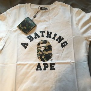 Men's Bathing Ape T shirt